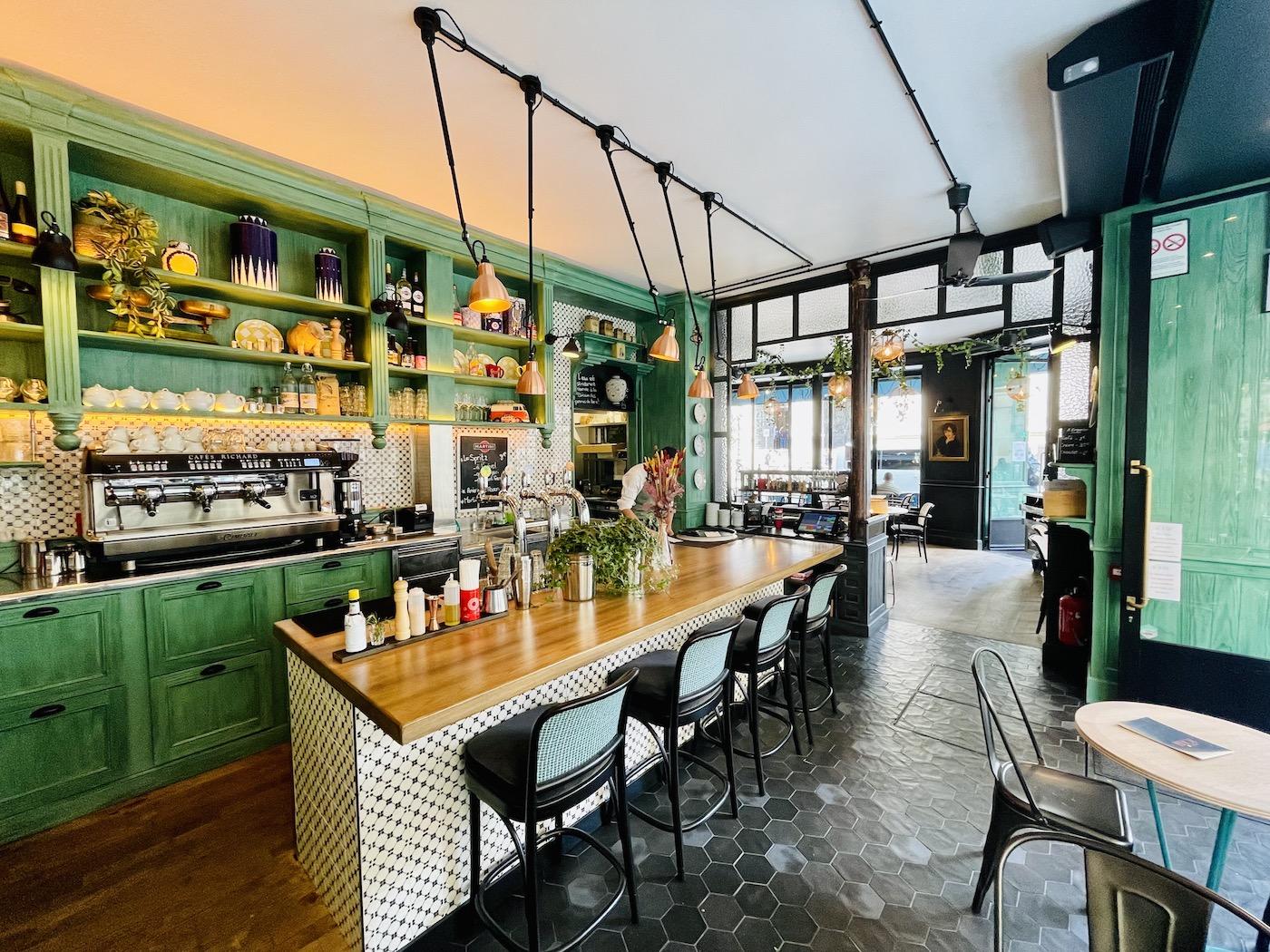 Comptoir restaurant La Petite Louise