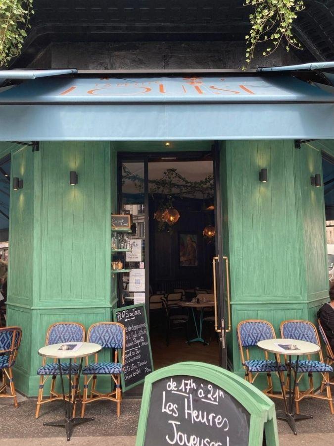 Entrée restaurant La Petite Louise