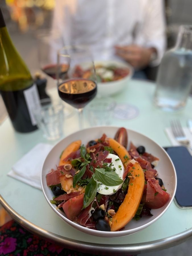 salade restaurant La Petite Louise