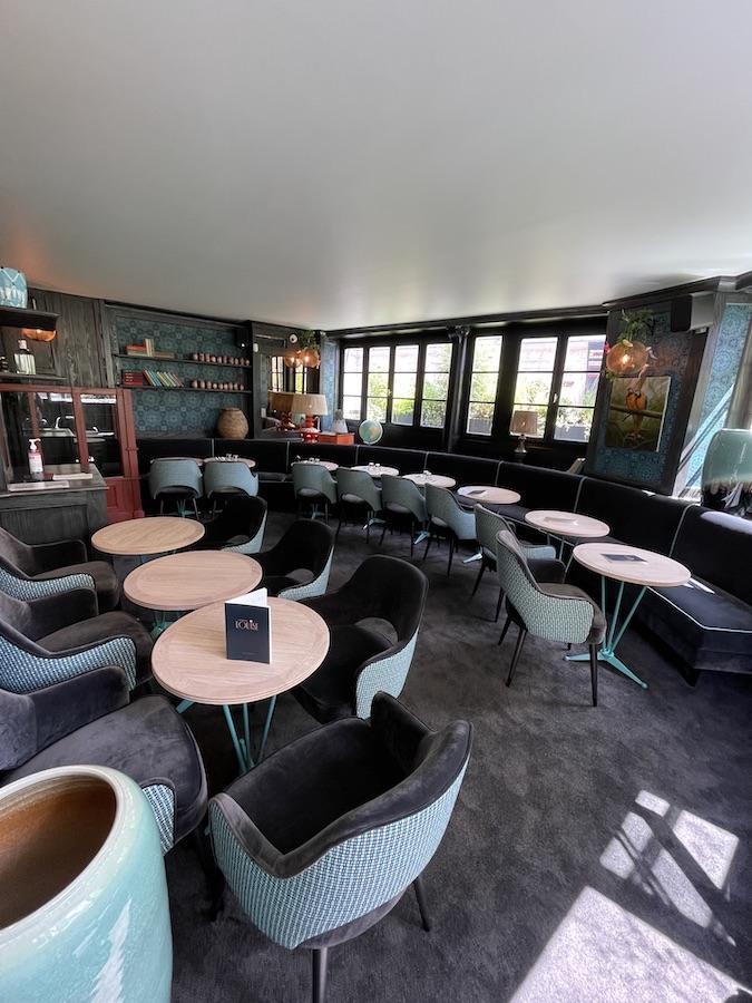 Salle étage restaurant La Petite Louise