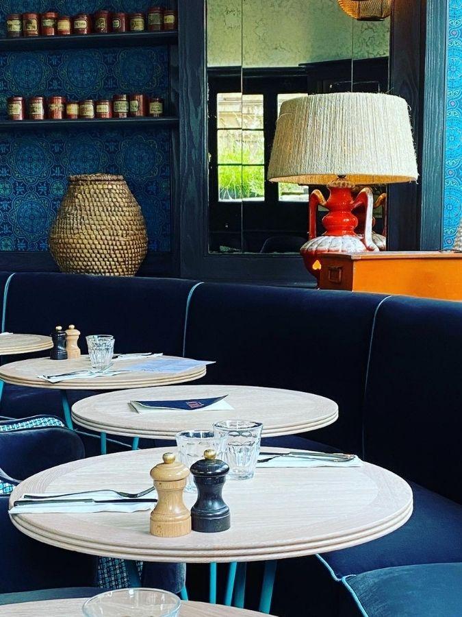 salon restaurant La Petite Louise Paris
